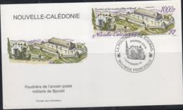 MILITARY - NEW CALEDONIA - 2002 - BOURAIL ENCAMPMENT 1000FR  ON ILLUSTRATED FIRST DAY COVER - Militaria