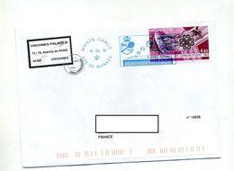 Lettre Flamme Monte Carlo Tennis Sur Communication - Machine Stamps (ATM)