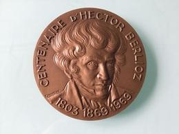 Centenaire D' HECTOR BERLIOZ En Bronze - Recordatorios