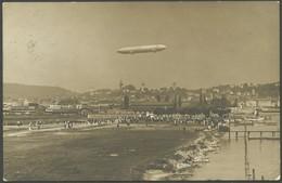 ALTE ANSICHTSKARTEN 1911, LZ 10 (Schwaben), Schweizfahrt, Foto-Sonderkarte Luftschiff über Luzern Nach Parma, Gebraucht, - Aviation