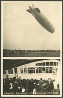 ALTE ANSICHTSKARTEN 1939, LZ 127, Landung In Mannheim Am 19.10.1939, Ungebrauchte Fotokarte, Pracht - Aviation