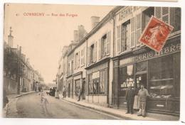 CORBIGNY RUE DES FORGES  C778 - Corbigny