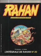 RAHAN INTEGRALE NOIRE N° 20 BE 10/1985 Cheret Lecureux (BI4) - Rahan