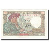 France, 50 Francs, Jacques Coeur, 1941, 1941-07-17, SUP, Fayette:19.12, KM:93 - 50 F 1940-1942 ''Jacques Coeur''