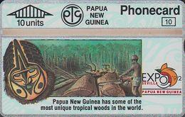 Papua New Guinea - PNG-016a - Expo'92 - Mineral Wealth - 209C -mint - Papouasie-Nouvelle-Guinée