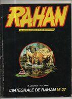 RAHAN INTEGRALE NOIRE N° 27 BE 04/1986 Cheret Lecureux (BI4) - Rahan