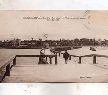 Grandcamp - Les  Bains -   Vue  Prise  Du  Phare  Vers  Le  Port. - France