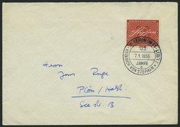 BUNDESREPUBLIK 227 BRIEF, 1956, 20 Pf. Stephan Auf FDC Mit Sonderstempel BERLIN SW 61, Pracht, Mi. 350.- - [7] Federal Republic