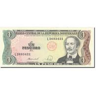 Billet, Dominican Republic, 1 Peso Oro, 1988, 1988, KM:126a, SPL+ - República Dominicana