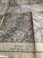 Carte Bernay N . E. - Geographical Maps