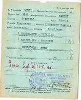 1943 STAZIONE SOMMERGIBILI BRINDISI - Military Mail (PM)