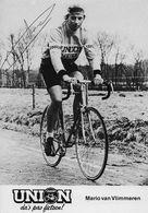 CARTE CYCLISME MARIO VAN VLIMMEREN SIGNEE TEAM UNION 1979 - Wielrennen