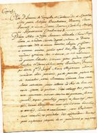 1683 SALICE SALENTINO BEL DOCUMENTO NOTARILE - Vecchi Documenti