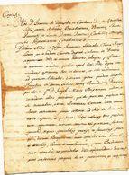 1683 SALICE SALENTINO BEL DOCUMENTO NOTARILE - Unclassified