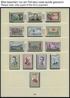 SAMMLUNGEN **, 1960-81, Postfrische, Bis Auf Wenige Werte Komplette Sammlung In 2 Neuwertigen Lindner Falzlosalben, Incl - Francia