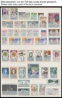SAMMLUNGEN **, Fast Komplette Postfrische Sammlung Frankreich Von 1965-74 Sauber Im Einsteckbuch, Prachterhaltung - Francia