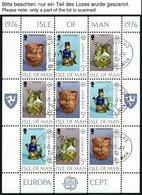 INSEL MAN KB O, 1976-90, Europa, Alle 15 Kleinbogensätze Komplett Mit Ersttagsstempeln, Pracht, Mi. 316.- - Isola Di Man