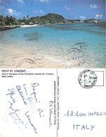 Petit St. Vincent. Grenadine Islands. Viaggiata 1982 - Postcards