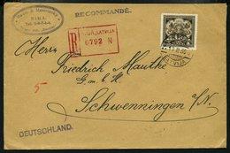 LETTLAND 1925-31, 8 Einschreiben Nach Deutschland Mit Verschiedenen Frankaturen, Fast Nur Prachterhaltung - Latvia