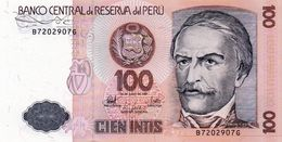 PERU 100 INTIS 1987 P-132a2   UNC - Peru