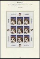 MAZEDONIEN 74/5KB **, 1996, Berühmte Frauen In Kleinbogen, Pracht, Mi. 160.- - Macedonia