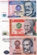 PERU 10/50100 INTIS 1987   UNC - Peru