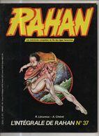 RAHAN INTEGRALE NOIRE N° 37 BE 02/1987 Cheret Lecureux (BI4) - Rahan
