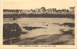 - Morbihan -ref-D971- Carnac Plage - Un Coin De La Plage - Villas - Edit. Riviere Bureau - Pons - N°5495 - Carnac