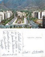 Caracas. Vista Aerea De La Plaza Altamira. Viaggiata 1963 - Venezuela
