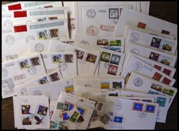 SAMMLUNGEN, LOTS Brief,o BRIEF, 1952-80, Partie Von 40 FDC`s, U.a. 3x Bl. 23, Dazu Einige Einzelmarken Und Blocks, Prach - Portugal