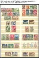 SAMMLUNGEN, LOTS O,**,* , Partie Verschiedene Ausgaben Von 1932-1968, Fast Nur Prachterhaltung - Portugal