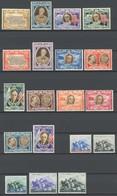SAN MARINO 356-69,425-29 **, 1947/49, Roosevelt Und Flucht Garibaldis, 2 Postfrische Prachtsätze, Mi. 90.- - Saint-Marin