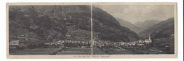 CLA235 - UN SALUTO DA EDOLO PANORAMA BRESCIA 1916 - Other Cities
