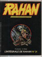 RAHAN INTEGRALE NOIRE N° 31 BE 09/1986 Cheret Lecureux (BI4) - Rahan