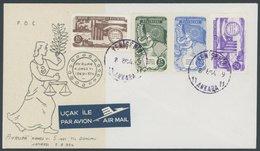 TÜRKEI 1391-94 BRIEF, 1954, Europarat Auf FDC, Pracht, Mi. 450.- - Turquie