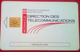 50 Units Direction Des Telecommunications - Mónaco