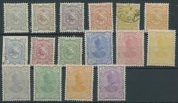 IRAN 94-109I **,,o , 1897, Schah Muzzafar Ad-Din, Ohne Aufdruck, Mi.Nr. 98 Und 100 Gestempelt, Sonst Postfrischer Pracht - Irán