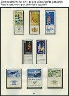 ISRAEL - SAMMLUNGEN, LOTS **, 1962-74, Komplette Teilsammlung Im SAFE Falzlosalbum, Pracht, Mi. 283.- - Israël