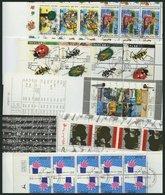 ISRAEL - SAMMLUNGEN, LOTS MH O, 1989-94, 5 Verschiedene Markenheftchen, Pracht, Mi. 134.- - Israël
