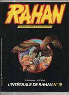 RAHAN INTEGRALE NOIRE N° 19 BE 09/1985 Cheret Lecureux (BI4) - Rahan