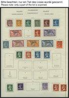 LIBANON *, Ungebrauchter Sammlungsteil Libanon Von 1924-38 Mit Einigen Besseren Ausgaben, Meist Feinst/Pracht, Mi. 1050. - Líbano