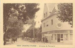 - Morbihan -ref-D969- Carnac Plage -avenue De Kermaro - Agence Generale De Location -edit. Riviere Bureau -pons- N°5505- - Carnac