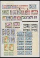 MAURETANIEN **, 1913-42, Postfrische Partie Mit Bogenteilen, Fast Nur Prachterhaltung - Mauritania (1960-...)