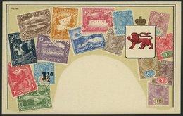 TASMANIEN Ca. 1920, Briefmarkenserie, Ungebrauchte Karte, Pracht - Timbres (représentations)