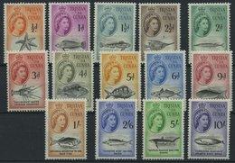 TRISTIAN DA CUNHA 28-41 **, 1960, Königin Elisabeth, Prachtsatz, Mi. 110.- - Tristan Da Cunha