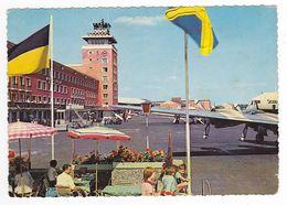 Aéroport De Münich München Flughafen Riem En 1963 Avions à Hélices Tour De Contrôle VOIR DOS - Muenchen