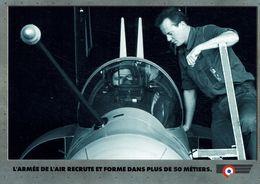 AVIATION MILITAIRE -RECRUTEMENT DEFENSE-ARMEE DE L'AIR-AVION - Avions