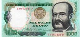 PERU 1000 SOLES DE ORO 1981 P-122a   UNC - Peru