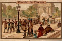 CHROMO  CHOCOLAT DU PLANTEUR LE MONOME - Chocolate