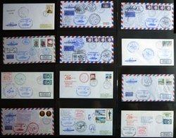 ANTARKTIS 1987/8, Sechste Antarktis Expedition Der POLARSTERN, 39 Verschiedene Belege, Pracht - Timbres